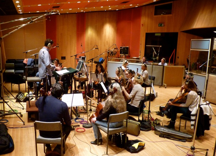 GOLDSTEIN - Recording 'Dinosaur' Nescafe at Angel Studios
