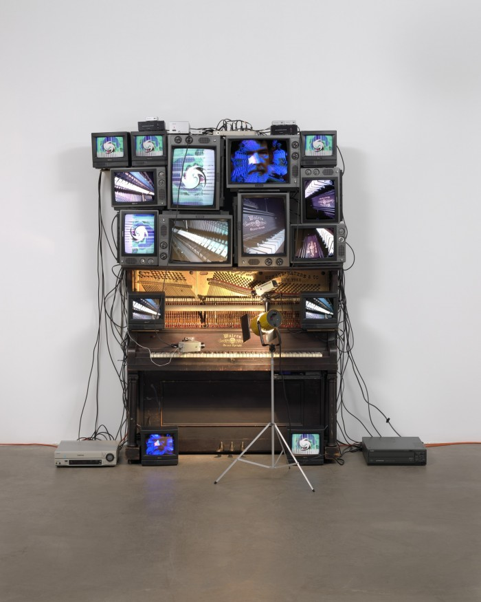 Nam June Paik Piano MoMA