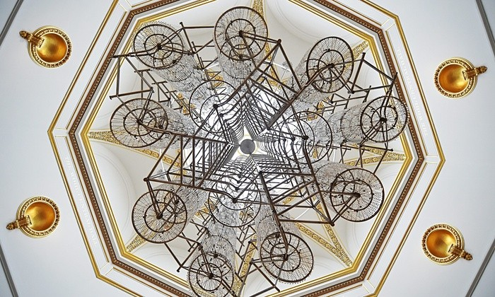 Ai Weiwei 'Bicycle Chandelier' 2015