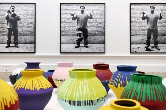 Ai Weiwei 'Vases' at Royal Academy