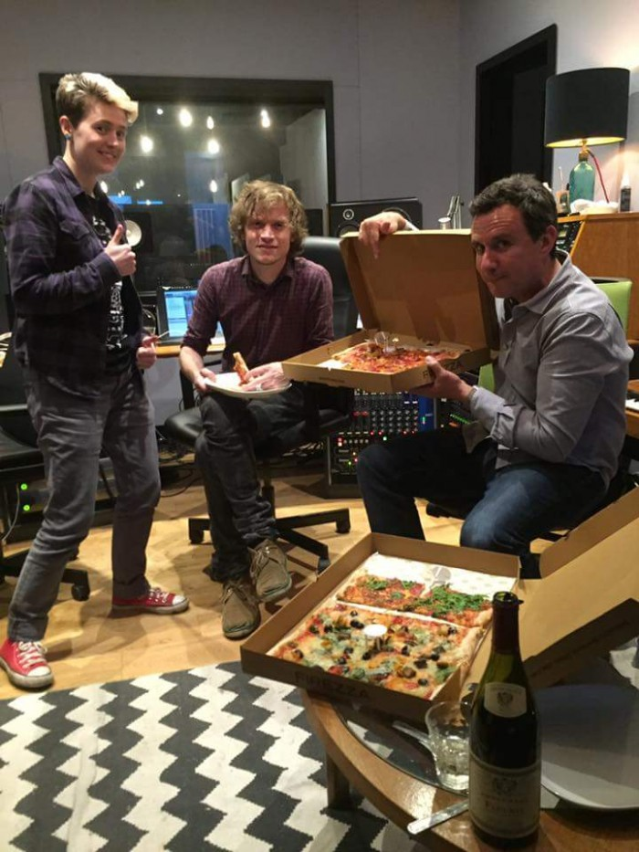 Pizza at Tileyard Studios